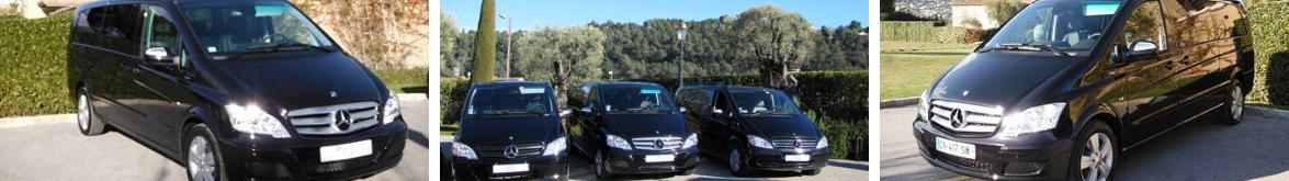 Minibus mariage invites service chauffeur prive - Nice - Cannes - Antibes - Monaco - Marseille